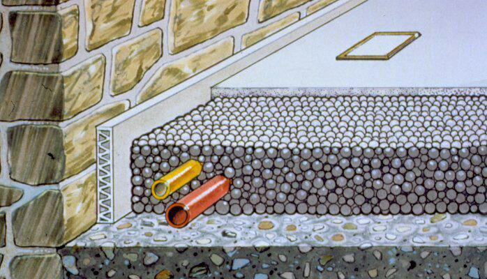 مقایسه کف سازی بتن با پوکه معدنی