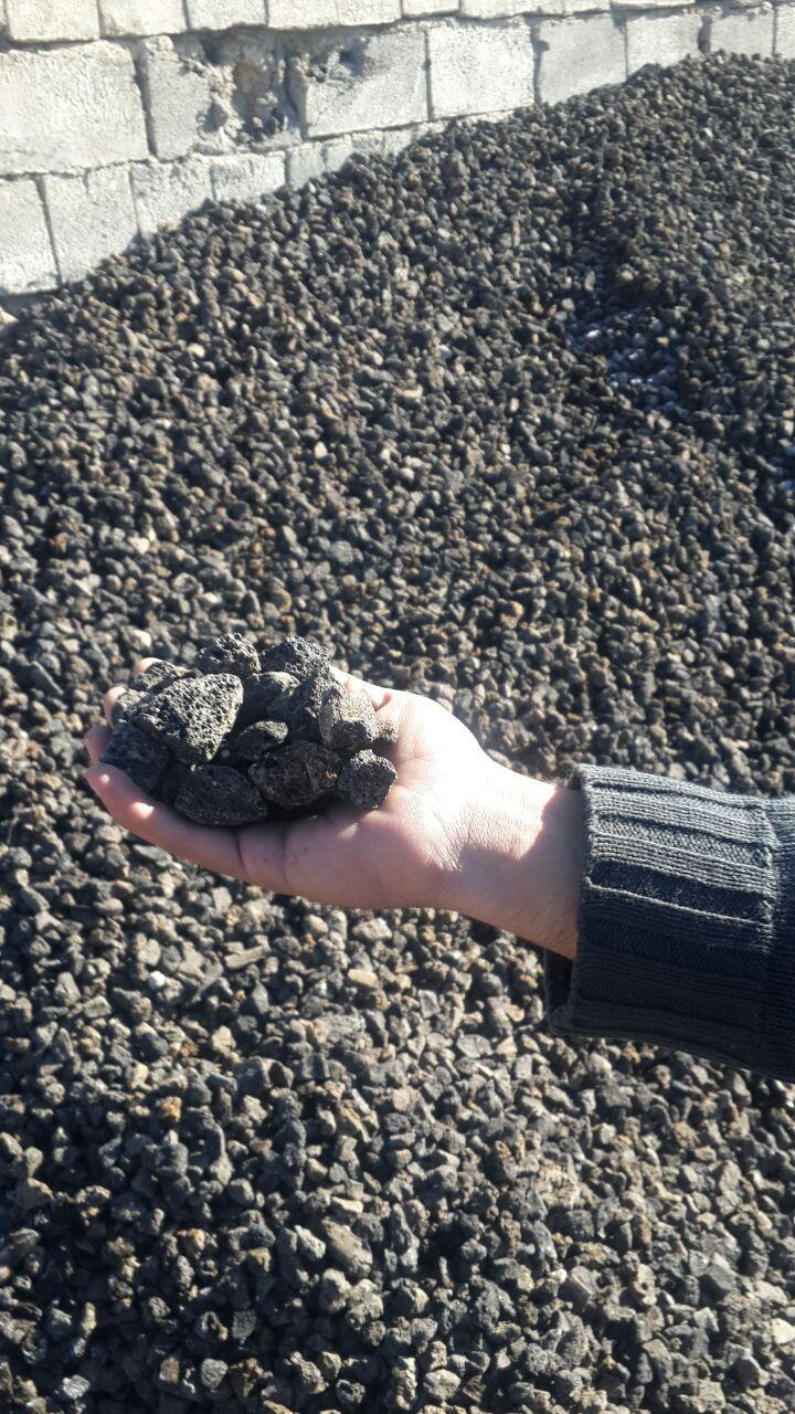 پوکه معدنی بادامی سیاه قروه