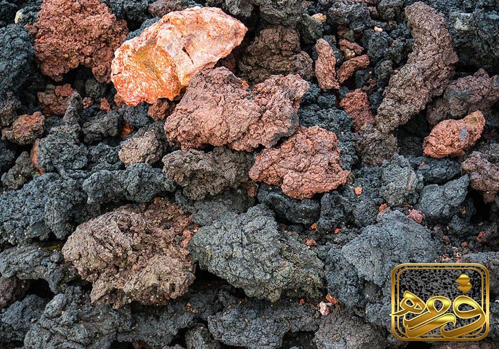 انواع سنگ های آتشفشانی