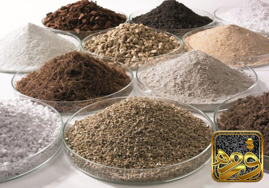جدول دانه بندی پوکه معدنی