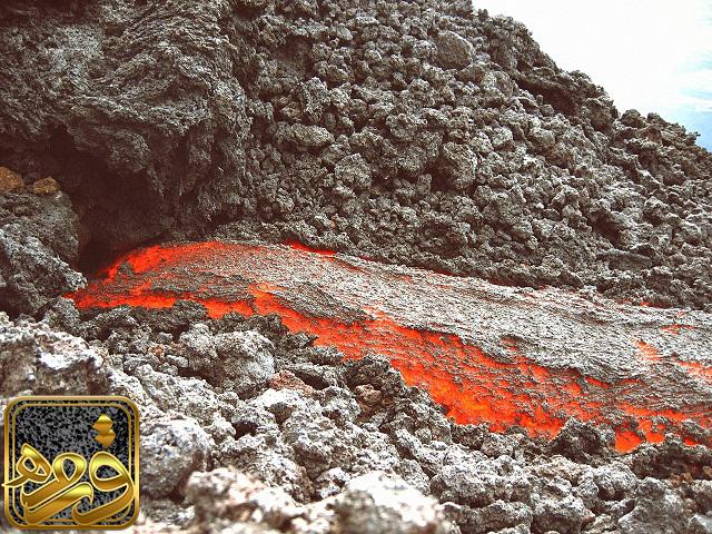 پوکه معدنی آتشفشانی